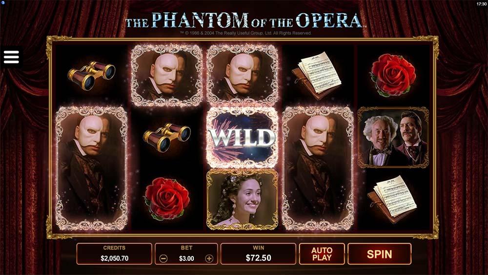 The Phantom of the Opera Slot - Base Game