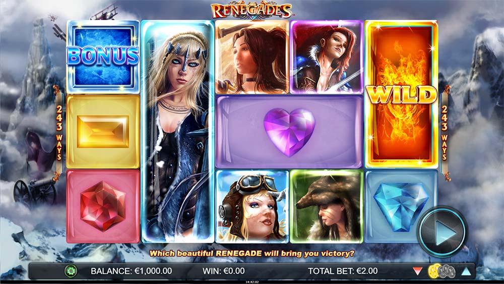 Renegades Slot - Base Game