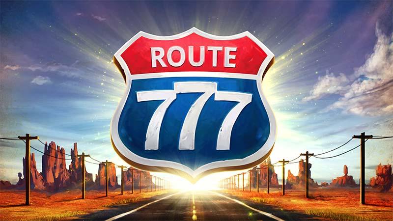 Route 777 Slot Logo