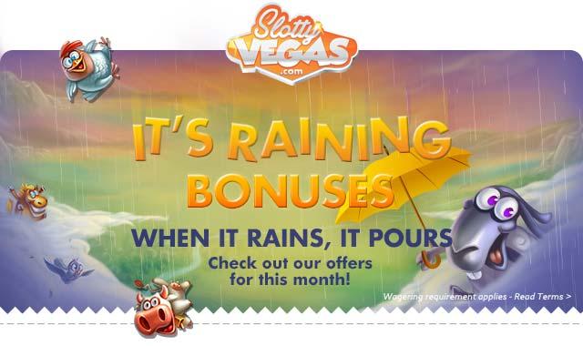 Slotty Vegas Casino - November Promotions
