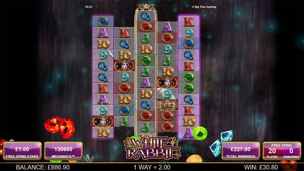 White Rabbit Slot - Bonus Round