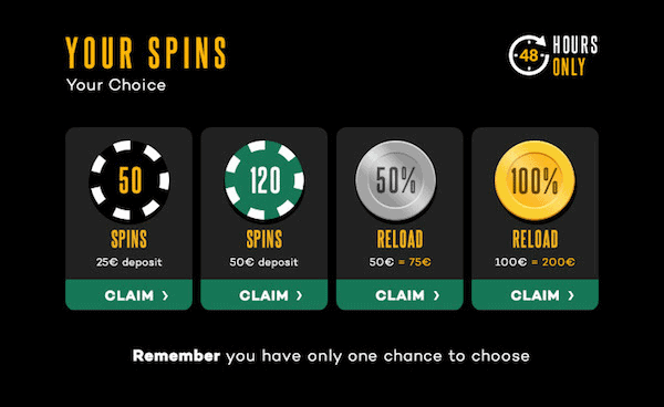 Your Spins - Your Choice