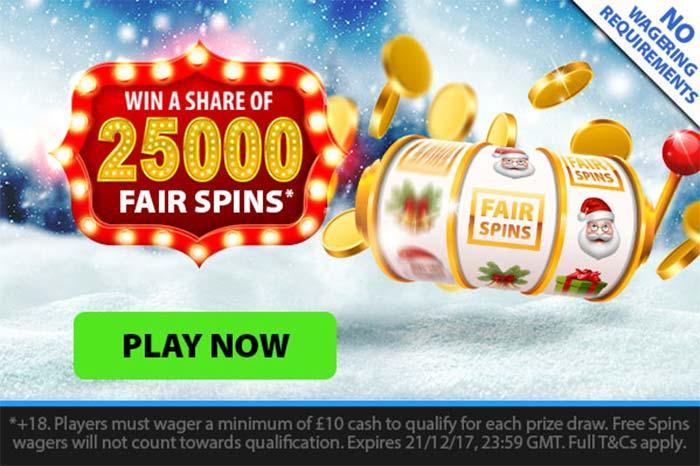 BGO Casino Xmas 2017 Promotions