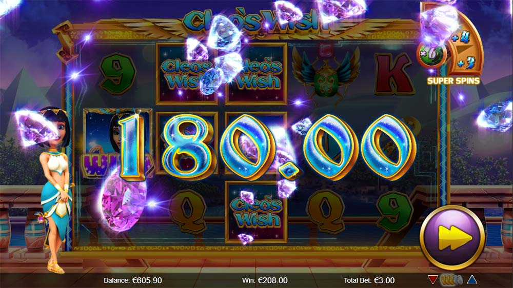Cleo's Wish Slot - Big Win