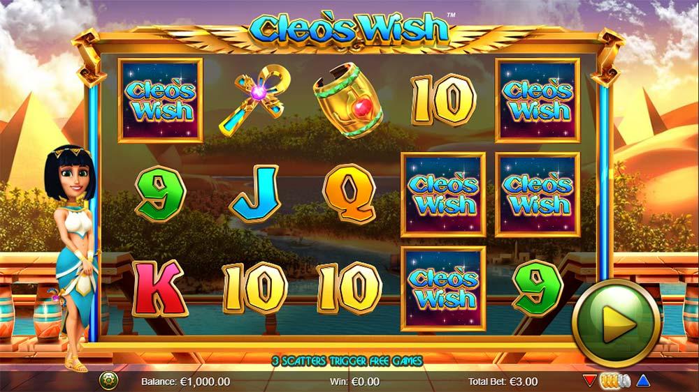 Cleo's Wish Slot - Base Game