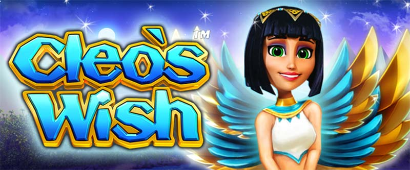 Cleo's Wish Slot Logo