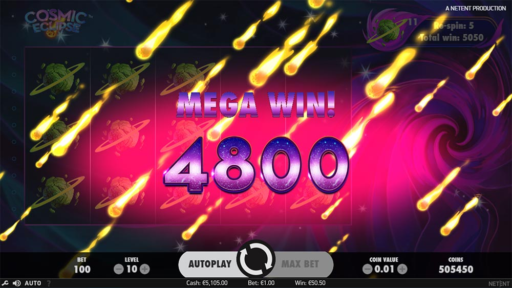 Cosmic Eclipse Slot - Mega Win