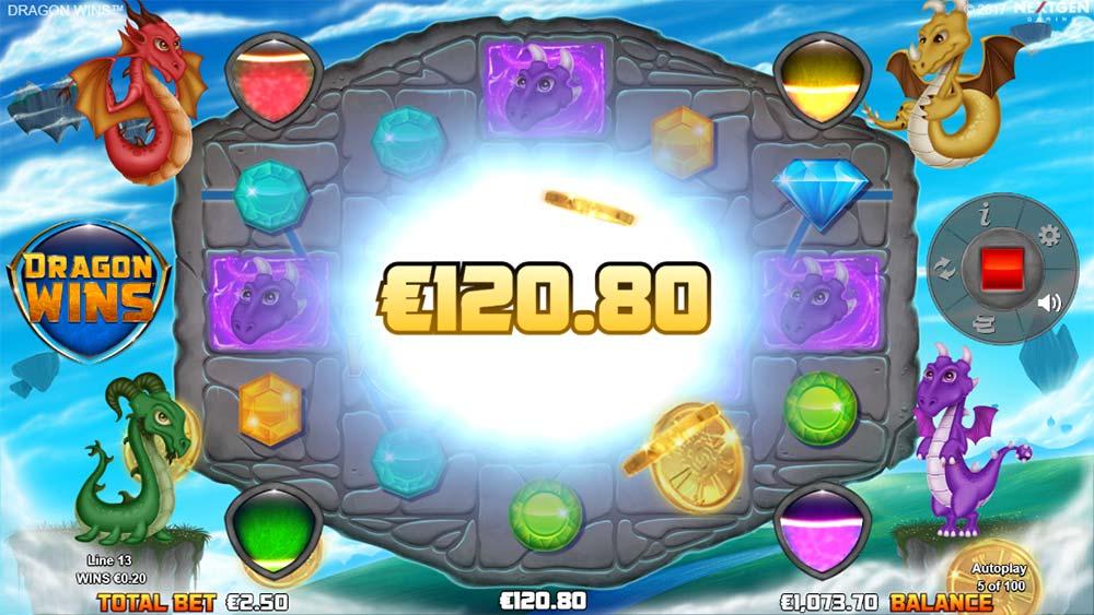 Dragon Wins Slot - Dragon's Fire Multiplier