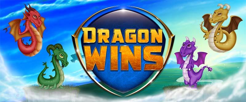Dragon Wins Slot Logo