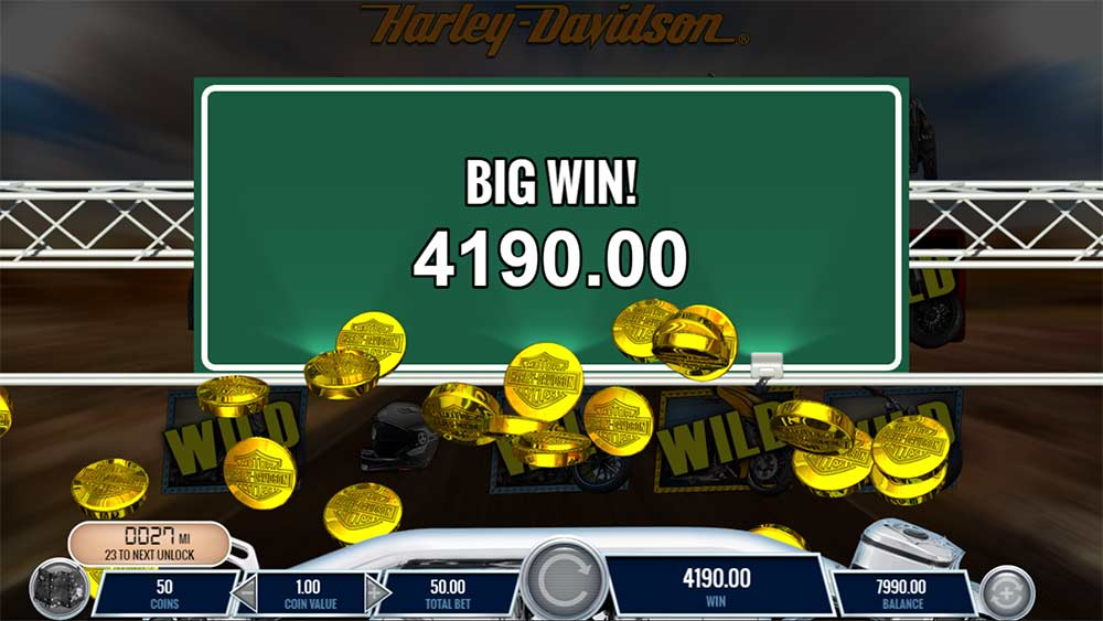 Harley Davidson Freedom Tour Slot - Big Win