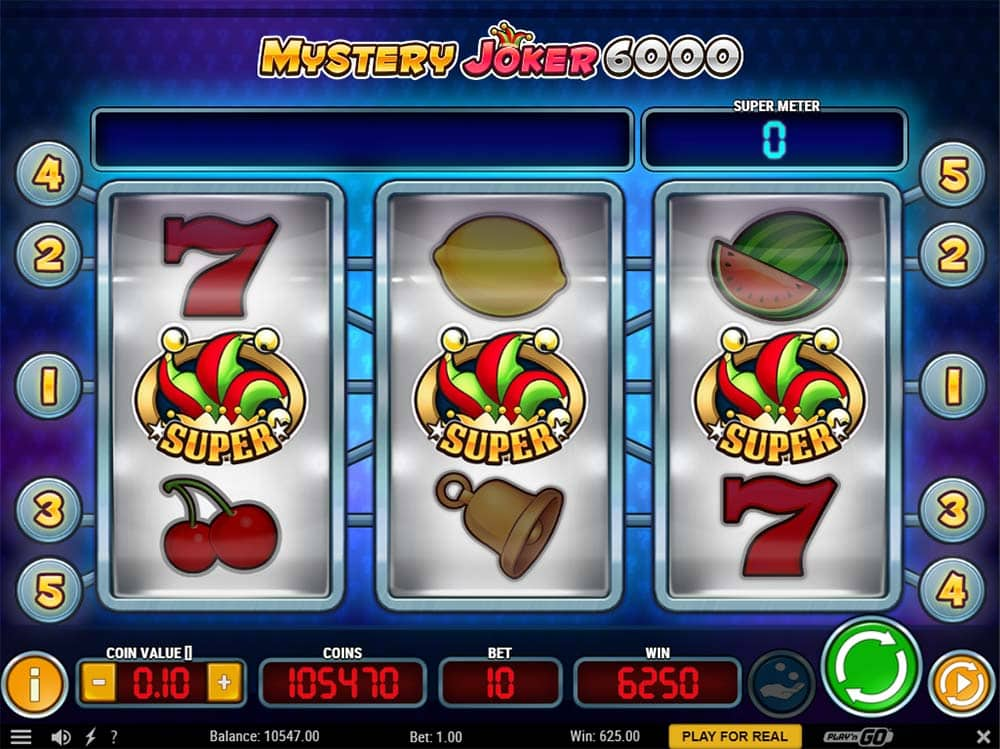 Mystery Joker 6000 - Jackpot Pay