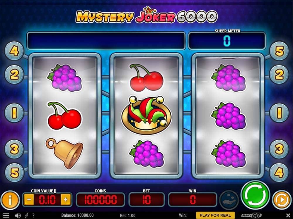 Mystery Joker 6000 - Base Game
