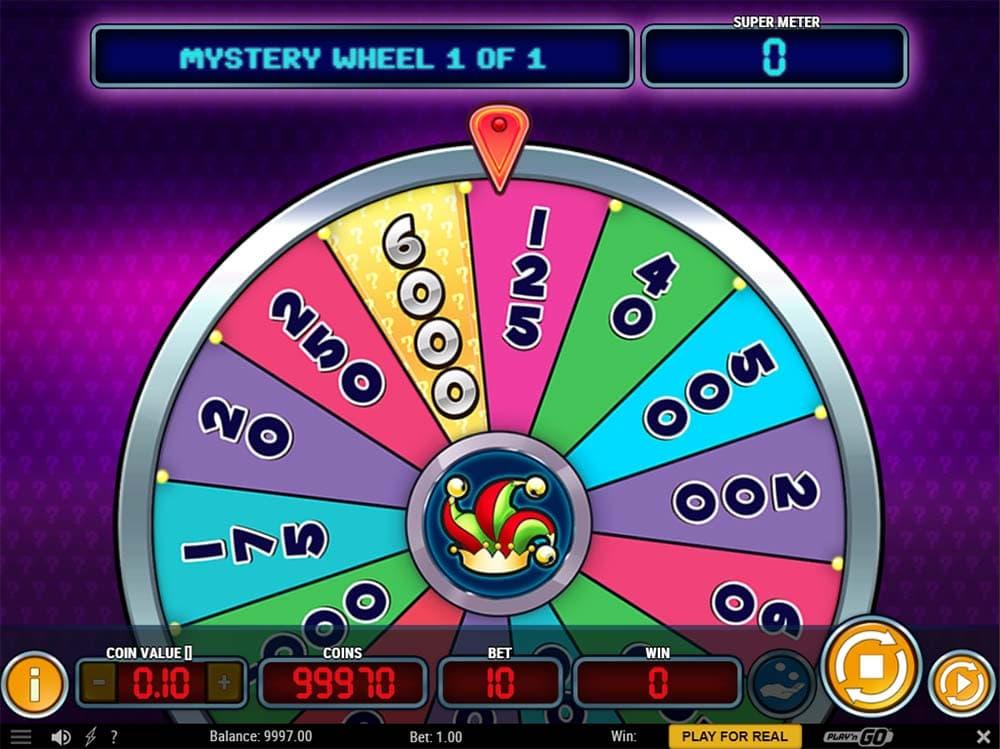 Mystery Joker 6000 - Mystery Wheel Feature