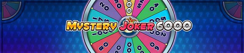 Mystery Joker 6000 Slot Logo