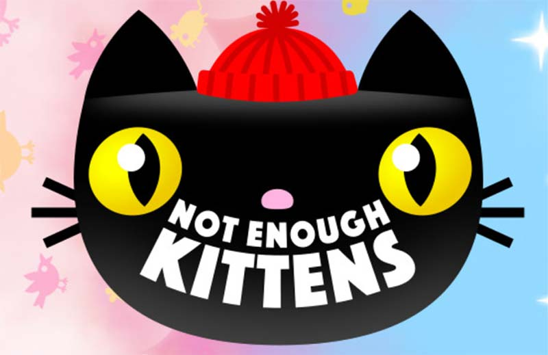Not Enough Kittens Slot Logo