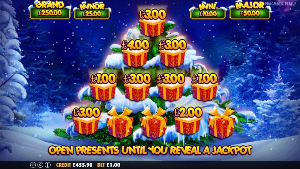Santa Slot - Bonus Picking Round