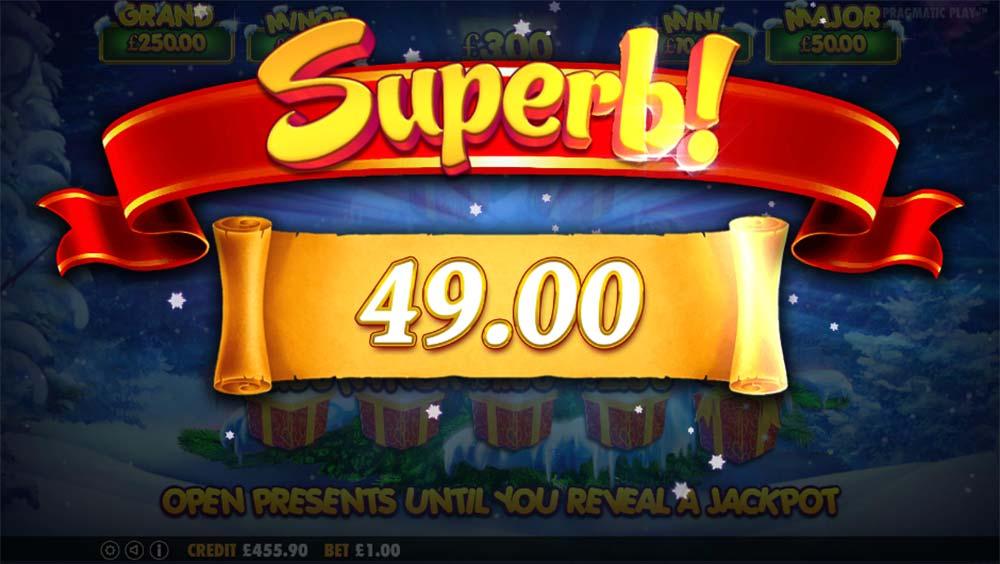Santa Slot - Superb Win