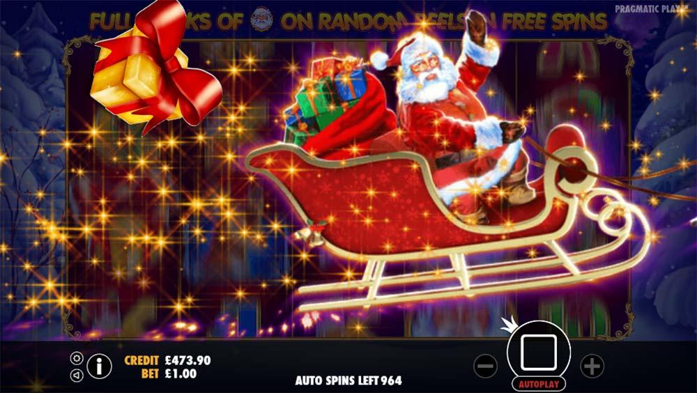 Santa Slot - Random Bonus Trigger