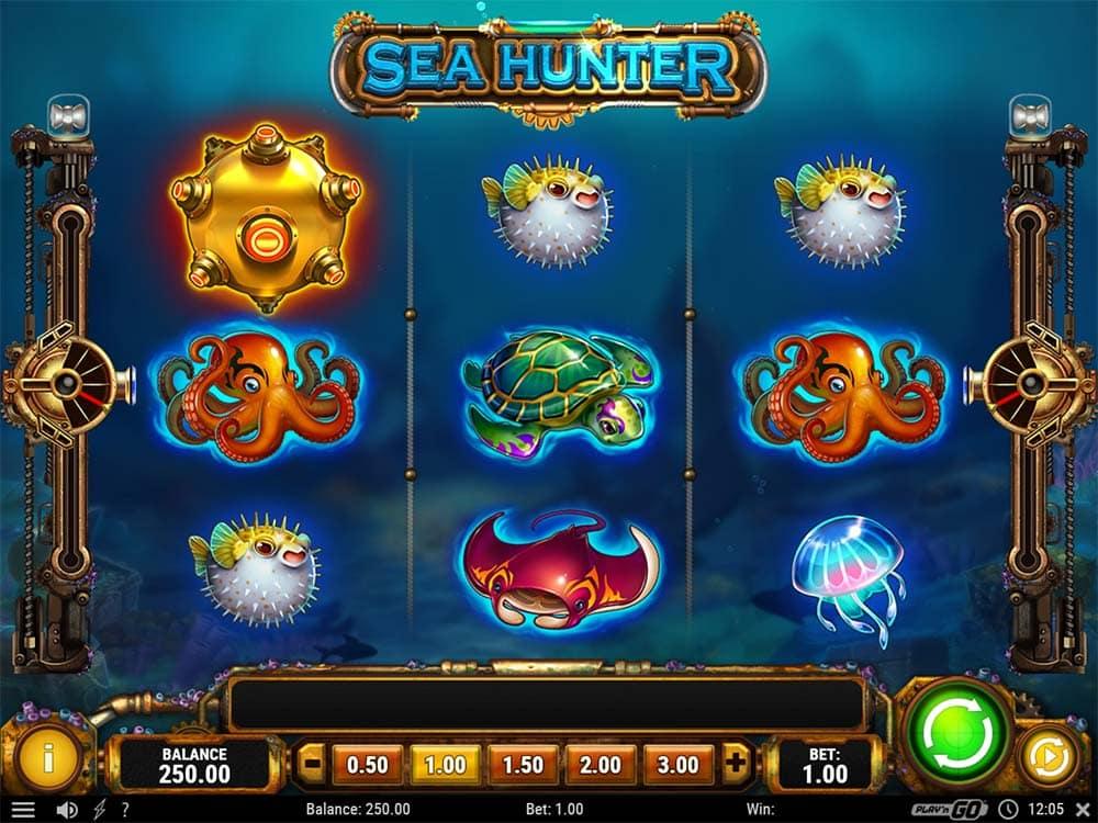 Sea Hunter Slot - Base Game