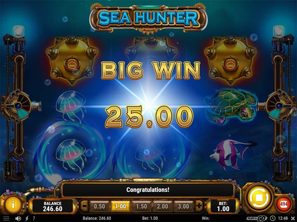 Sea Hunter Slot - Big Win Wild Line