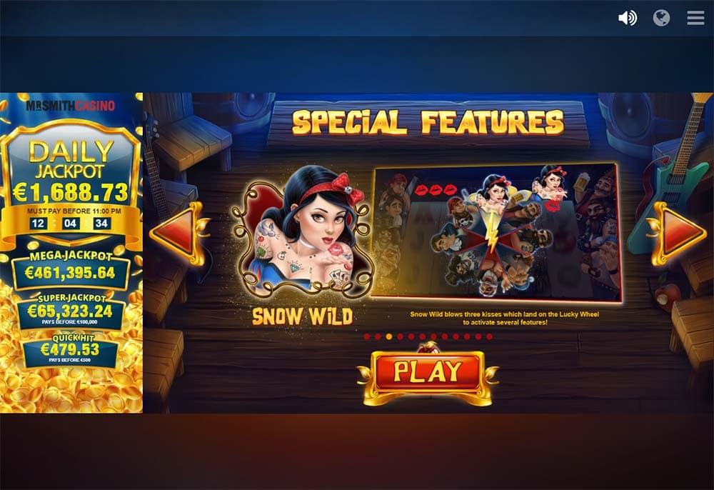 Snow Wild and the 7 Features Slot - Snow Wild Bonus