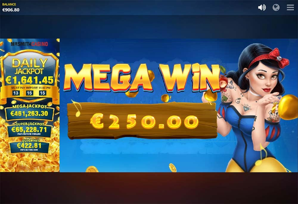 Snow Wild and the 7 Features Slot - Mega Win