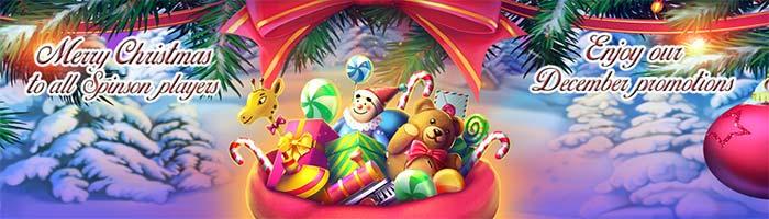 Spinson Casino Christmas Extra Spins
