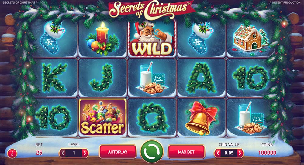 Secrets of Christmas Slot - NetEnt