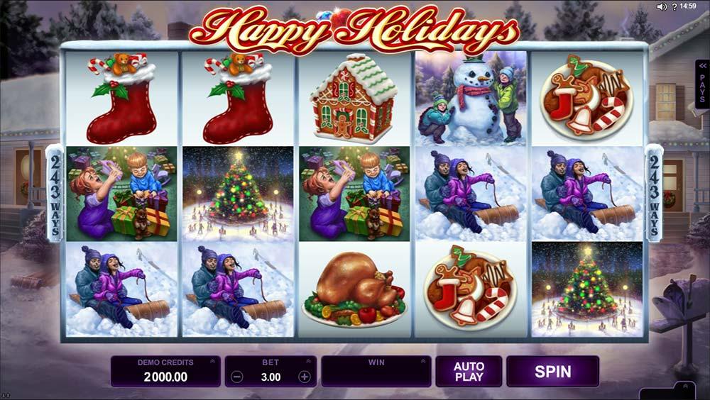 Happy Holidays - Microgaming