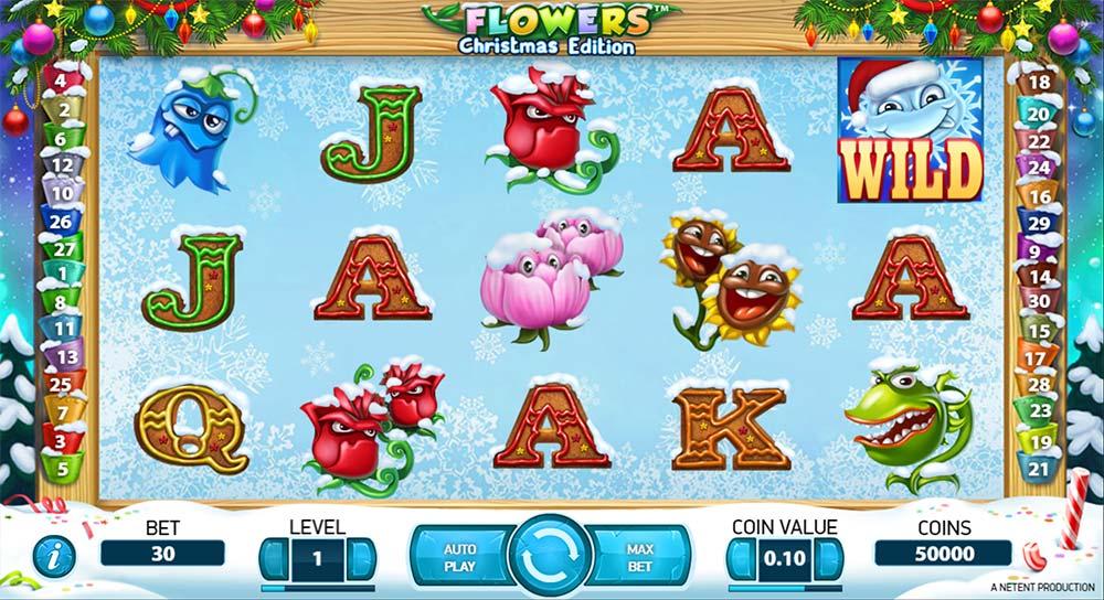 Flowers Christmas Edition - NetEnt