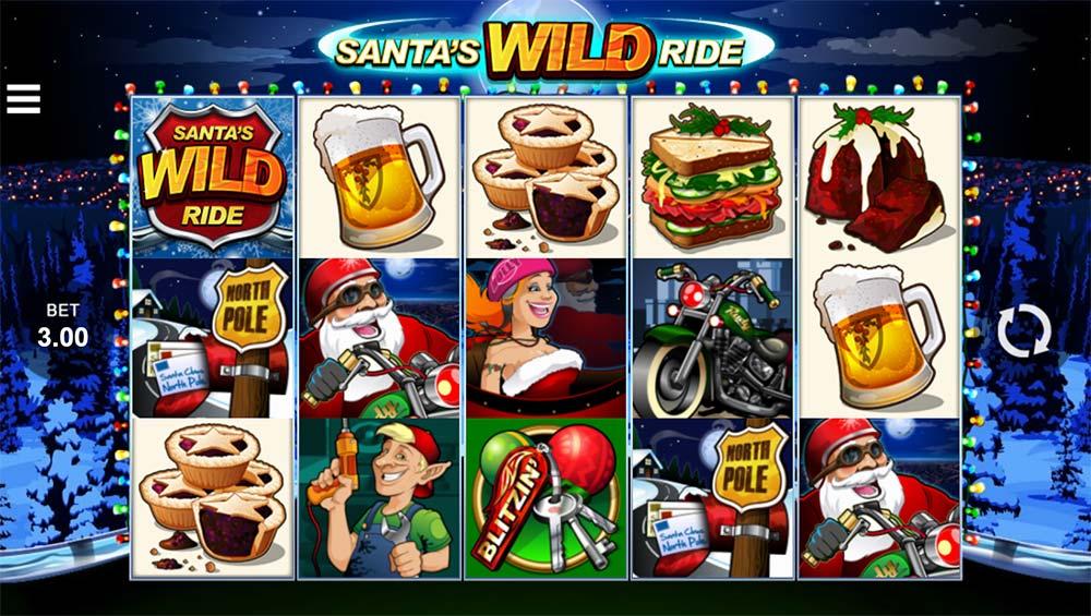 Santa's Wild Ride - Microgaming