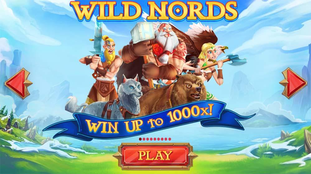 Wild Nords Slot - Intro Screen