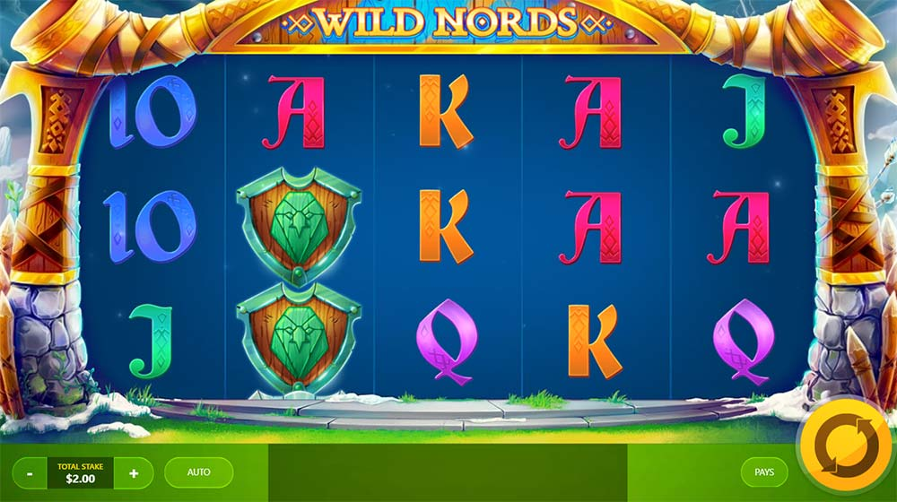 Wild Nords Slot - Base Game