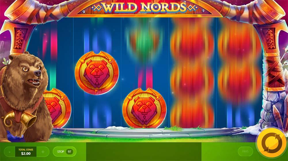 Wild Nords Slot - Animal Summon Feature