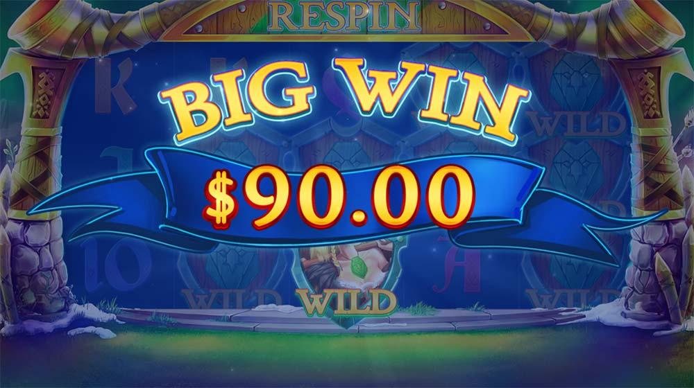 Wild Nords Slot - Big Win