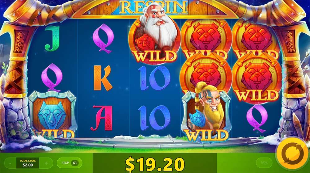 Wild Nords Slot - Bjorn Wild Feature