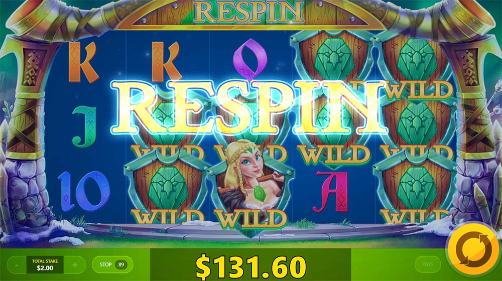 Wild Nords Slot - Respin Feature