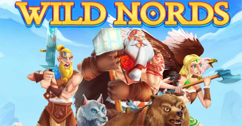 Wild Nords Slot Logo