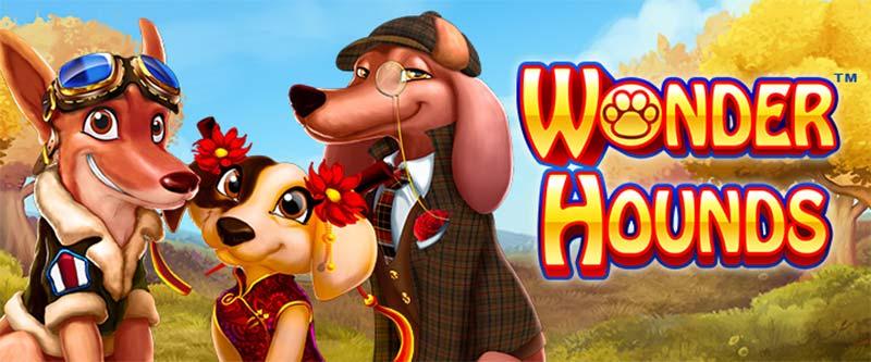 Wonder Hounds Slot Logo