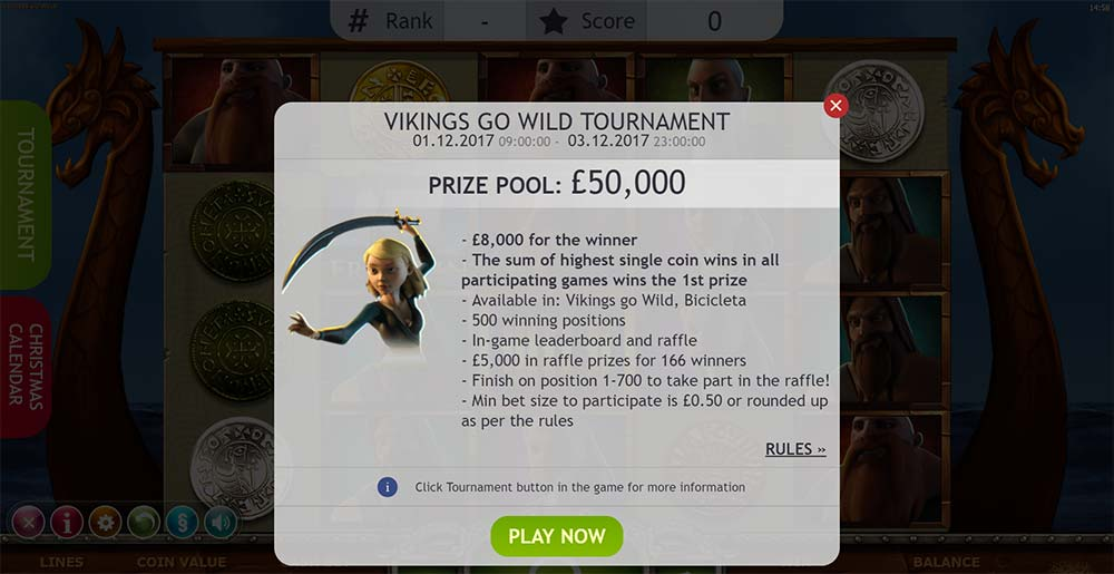 Yggdrasil Slot Tournament