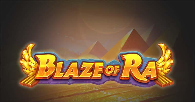 Blaze of Ra Slot Logo