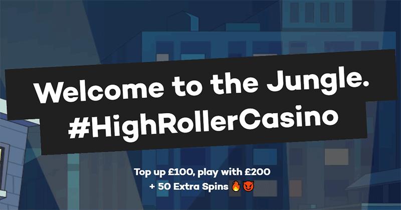 Highroller Casino Welcome Bonuses