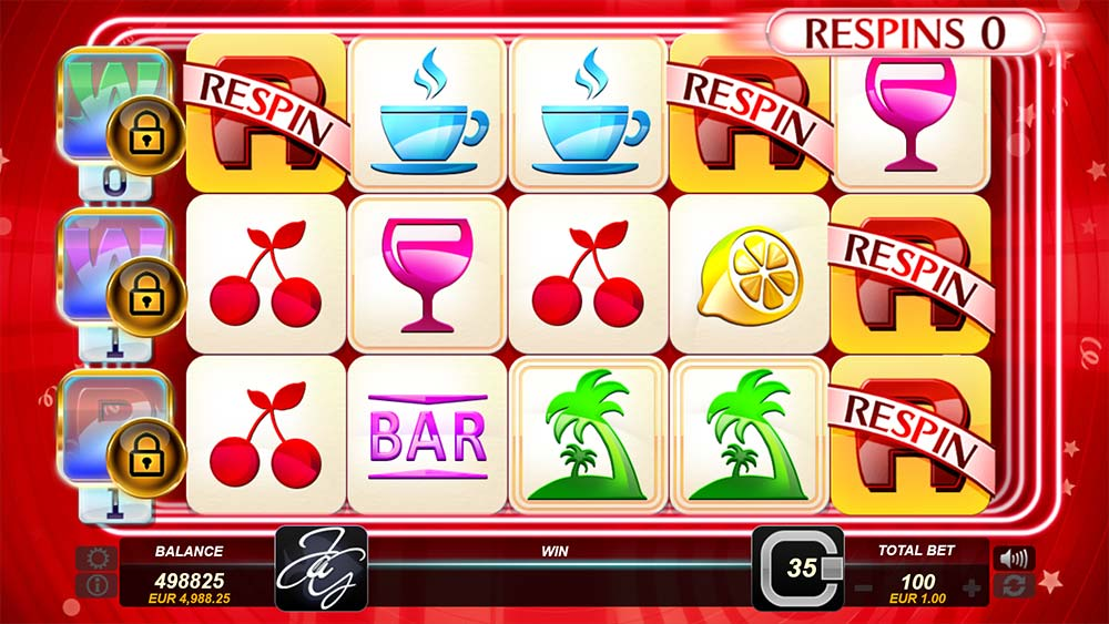 Just a Game Slot - Respin Mode