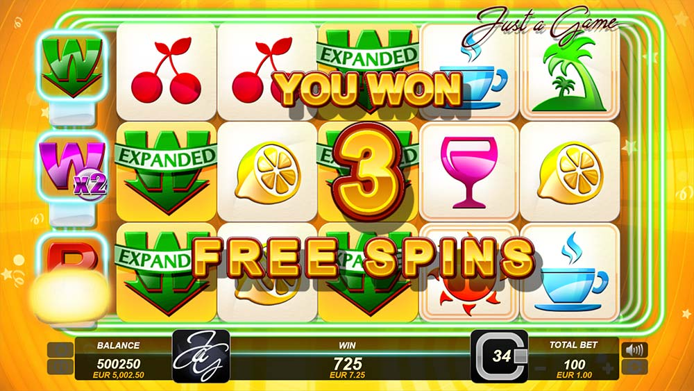 Just a Game Slot - Free Spins Trigger