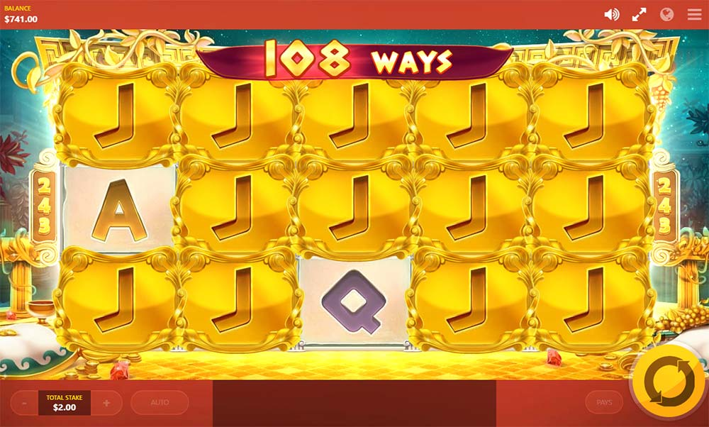 Midas Gold Slot - Re-Spin Feature