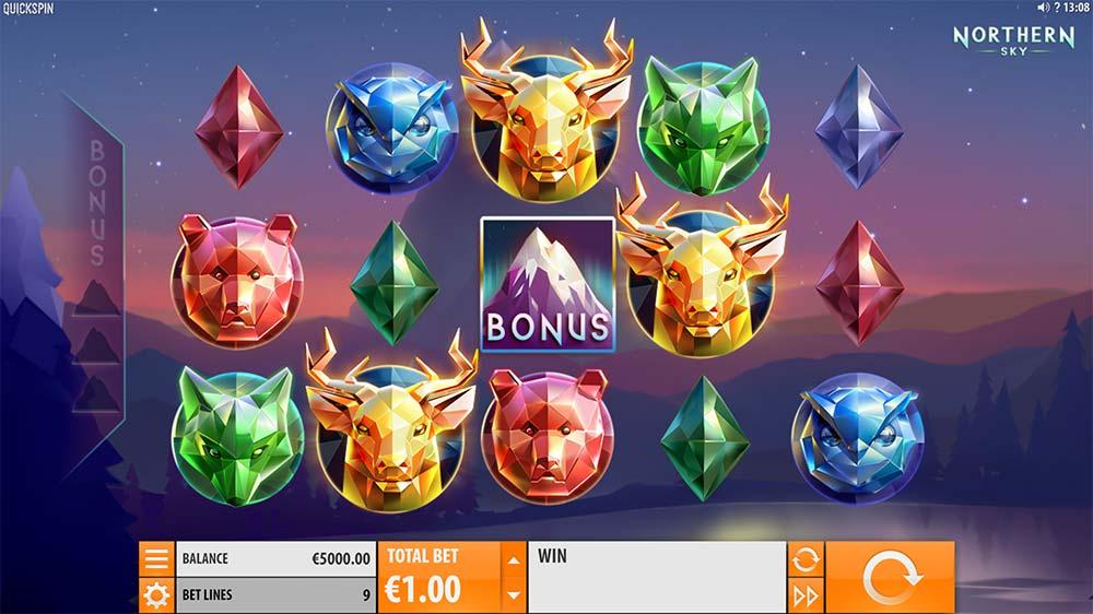 Northern Sky Slot - Base Game