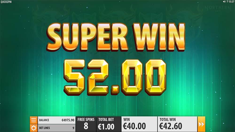 Northern Sky Slot - Super Win