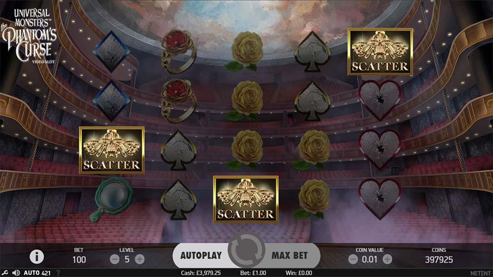 Phantom's Curse Slot - Free Spins Trigger