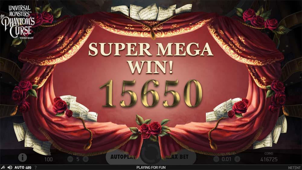 Phantom's Curse Slot - Super Mega Win
