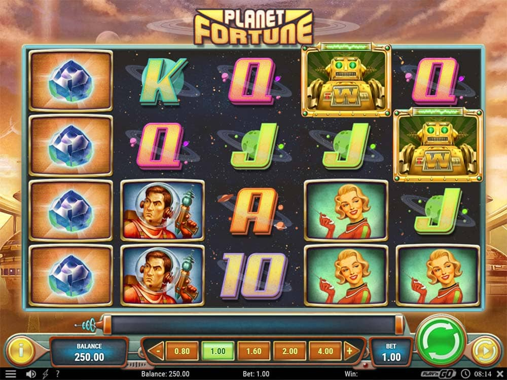 Planet Fortune Slot - Base Game